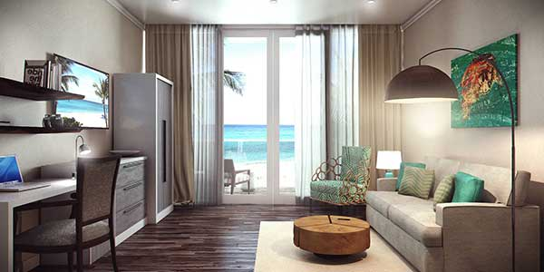 Two Bedroom suite at Sea Breeze Beach House