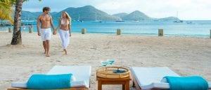 Sandals Grande St. Lucian All Inclusive Honeymoons: Beach View