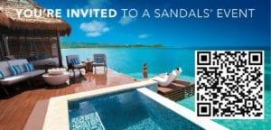 Sandals VIP Event