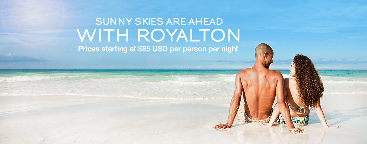 Current Specials at Royalton All-Inclusive Honeymoons Resorts